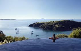 infinity pools. Delamore Lodge, Waiheke Island, New Zealand Infinity Pools