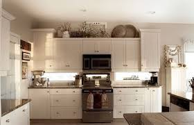simple kitchens medium size above kitchen cabinet decor clic white wooden wall farmhouse rustic decorating ideas
