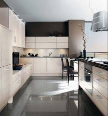 Modern Kitchen Flooring Design500400 Black And White Tile Kitchen Floor Black White