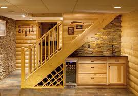 under stairs lighting. Exceptional Under Stairs Lighting Ideas Cool Wet Bar And Wine Storage Area I