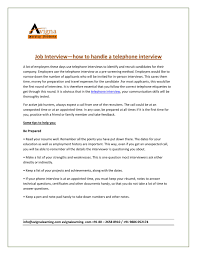 Interview Preparation Tips By Acri India Issuu
