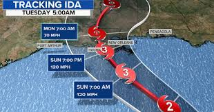 Tropical storm ida could speed across warm gulf waters and slam into louisiana as a major hurricane sunday, the national hurricane center warned Jgdcpr9zhbz 3m