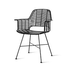 Outdoor <b>tub Chair black</b> - Urban Nest