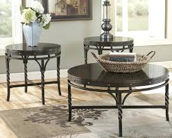 full size of ashley glass coffee table set furniture north s signature design by kelton 3