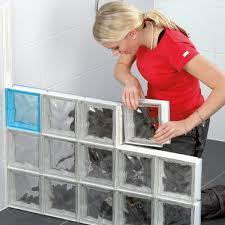 glass blocks with block lock kits