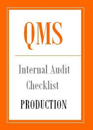 Production Department Flow Chart Iso 9001 Internal Audit Checklist For Production Department