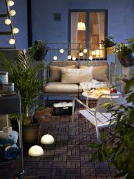 Lighting: Small Balcony Light Decor - Small Balcony