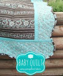 Pre Quilted Fabric Baby Quilt &  Adamdwight.com