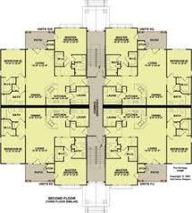 100  Quadplex Plans   The Reserve At Capital Pointe Floor Quadplex Plans
