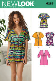 Tunic Patterns Interesting 48 New Look Pattern Misses Mini Dress Or Tunic