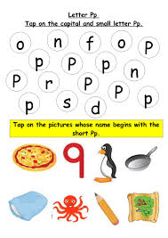 There are tracing worksheets, coloring worksheets, matching worksheets and much more! Phonics Letter P Worksheet