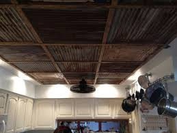 reclaimed tin ceiling painted corrugated metal c56 painted
