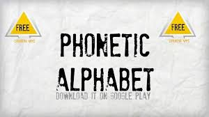 Interface for entering/typing ipa characters/symbols/glyphs/letters and diacritics. Nato Phonetic Alphabet Apk 6 2 Download For Android Download Nato Phonetic Alphabet Apk Latest Version Apkfab Com