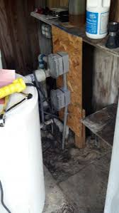 i am rewiring a well pump can you help me the wiring diagram attached images