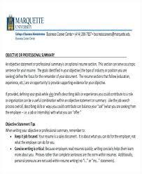 Career Objective For University Teacher Resume Black And White