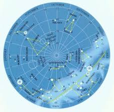 North Celestial Pole Star Chart Map 6