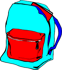 backpack clipart clear background graphic