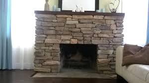 stone veneer fireplace diy install stone veneers over old brick fireplace vintage cover wood mantel shelf stone veneer fireplace diy install