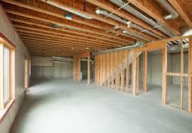 finishing basement walls