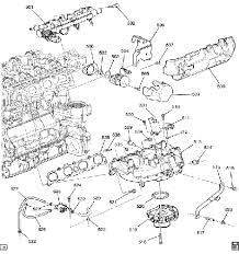 engine diagrams chevy hhr network and heres the intake side