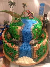 Ethans Dinosaur Birthday Cake More Birthdays Dinosauri Idee