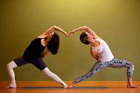 work it out 5 partner yoga poses for