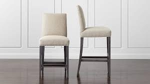 upholstered bar stools. Upholstered Bar Stools Crate And Barrel