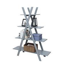 Convenience Concepts Oxford Aframe Bookshelf  Free Shipping Today   Overstockcom  18807559