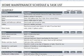 Household Maintenance List 22 Images Of Household Maintenance Template Jackmonster Com