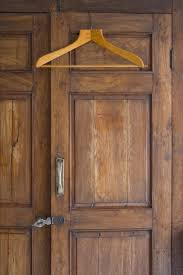 An Old Wooden Wardrobe. Musty Odors ...