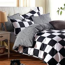 white bed sheets king whole classic black and linen bedding set size grid sheet include duvet white bed sheets