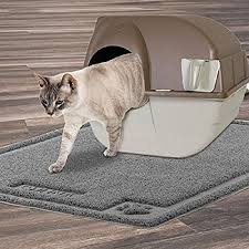 shunai cat litter mat extra large 35 x25 pet feeding mat trapping rugs feeding mat for cat and dog bowls waterproof dog food mat easy to clean