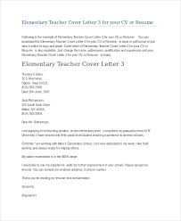 Example Teacher Cover Letters Teacher Cover Letter Example 12 Free Word Pdf Documents