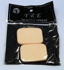 Спонж для нанесения макияжа YRE SP-01, 2 шт <b>желтые</b>, <b>спонжик</b> ...