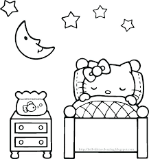 Free Hello Kitty Coloring Pages Hello Kitty Coloring Pages To Print