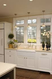 over the sink kitchen lighting. Kitchen : Track Lighting Best And White Cabinets Refrigerator Ceiling Lights For Oak Floor Light Fixtures Over The Sink N