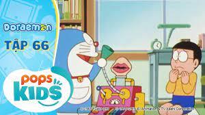 Doraemon Tập 66 - Chim Tung Tin Đồn Theo Gió, Kẹo Âm Thanh Bảy Màu - Hoạt  Hình Tiếng Việt - Phương
