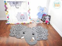 Elephant Rug Crochet Pattern Mesmerizing Josefina And Jeffery Crochet Elephant Rug 48 Pattern Update