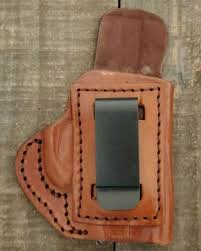 tagua iph 012 iwb holster for kel tec 380 brown leather rh with metal