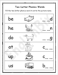 The first two phonics downloads on this page cover the 72 orton phonograms which include the 26 alphabetical letters. Two Letter Phonics Sounds Worksheet Englishbix