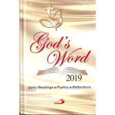 How To Create A Diary In Word Gods Word 2019 Daily Reflections Bible Diary St Pauls