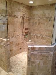 Doorless Walk In Shower Plans Home Decor Master Bathroom Remodel Walk In  Shower