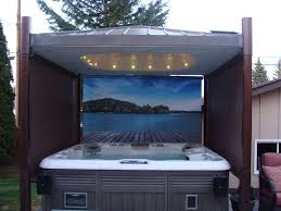 diy hot tub enclosure ideas 35 best the covana images on