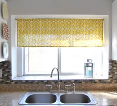 Kitchen Shades Kitchen Window Treatments Kitchen Window Treatments Roman Shades