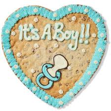 <b>It's A Boy</b>!! | Giant Cookie | Millie's Cookies <b>It's A Boy</b>!!