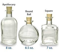 Decorative Glass Bottles Wholesale Fancy corked Herbal kitchen Cork and Bottle 9