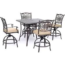 hanover traditions 5 piece high dining