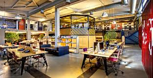 open office ceiling decoration idea. Office Trend. A Modern Open Trend Ceiling Decoration Idea