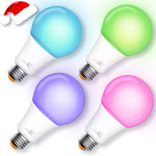 Light Bulb 100w Equivalent Smart Bulb A21 Wi Fi Smart Led Light Bulb 100w Equivalent Compatible Amazon Alexa Google Home App Voice Controlled Party Bulbs Color Changing