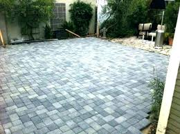 patio pavers cost landscaping patio cost comparison innovative ideas driveway endearing u backyard patio pavers cost